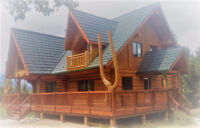 Log Home and Timber Cabin Restorations