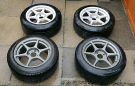 "Buddyclub P1 16"" 4x114.3 wheels"