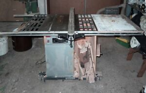 "10"" used Table saw with 2HP Motor from Bust Bee"