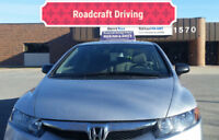 Driving lessons by professional instructor for G2/G road test