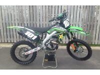 Kawasaki kxf 250 motocross bike px.. 125 450