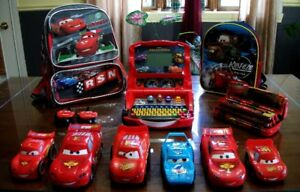 8 lot de jouets *FLASH MC QUEEN**