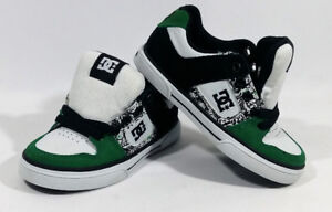 Childrens Brand New DC Shoes 10.5Y With Box Never Warn Green