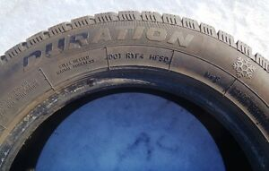 "4 x DURATION WINTERQUEST 195/65/R15"" Studdable Snow Tires Peterborough Peterborough Area image 5"