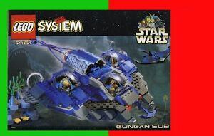 Set Lego 7161 Gungan Sub Série Star War BRIQUES TOYS JOUETS à QC