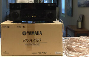 Yamaha AVENTAGE RX-A2010 AV Networked Receiver  Complete