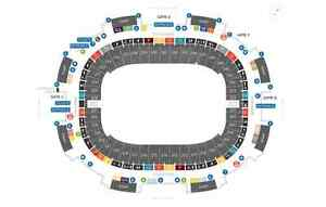 Men's International Rugby (Row 2, on the aisle, center pitch)