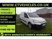 2014 64 plate Citroen Berlingo 1.6HDi Enterprise Special Edition A/C Top spec