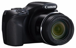 Canon PowerShot SX520 HS, tripod stand and bags for both of them
