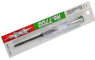 Champion Tester Screwdriver Voltage Indicator Detector Lights Ac Electrical Pen