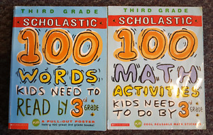 Scholastic-Third Grade Words and Math Activities