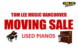 USED PIANO CLEARANCE - see list and prices here