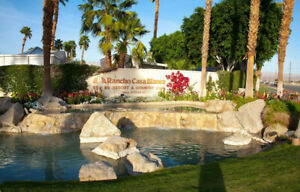 Rancho Casa Blanca Resort Rentals/Sales 55+  Indio CA, USA