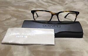 New Oliver Peoples Eyeglasses Denison Cocobolo OV5102 1003 Eye Wear 51-17 140