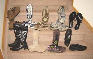 Ladies Footwear incl. Hikers - size 6, 6.5, 7, 7.5