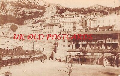 GIBRALTAR ??? Unknown View -   Real Photo.