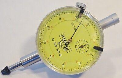 Fowler Dial Indicator 10mm Range .01mm Graduations England