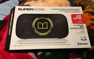 Monster SuperStar Bluetooth Wireless Speaker Brand New