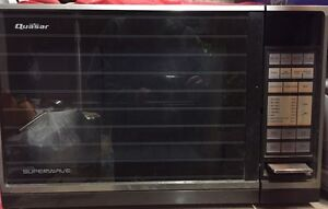 Microwave, convection oven.