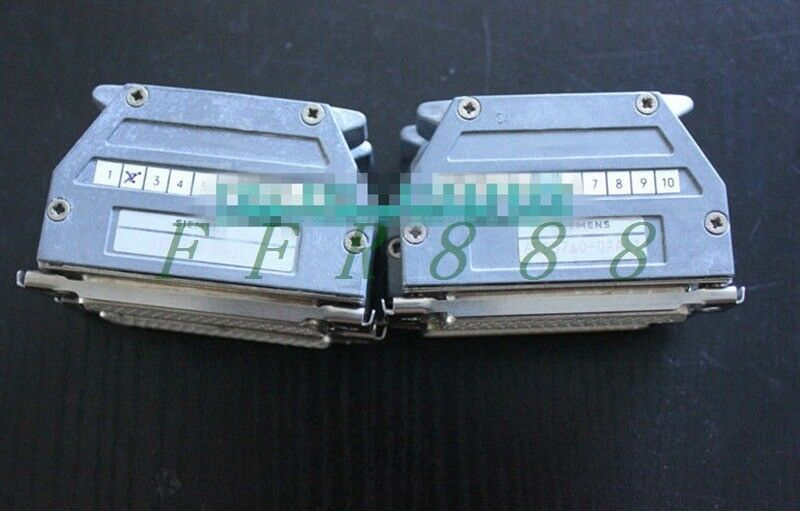ONE USED Siemens 6ES5760-0AA11 6ES5 760-0AA11 TERMINATING RESISTOR CONNECTO#OH19