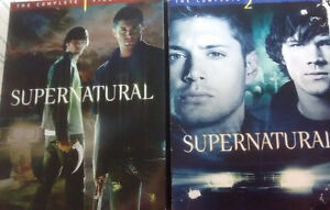 DVDs Supernatural saison 1&2