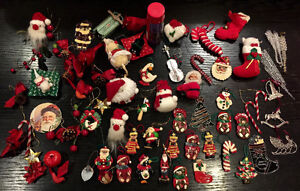 COLLECTION of Christmas Tree decorations ONLY $25