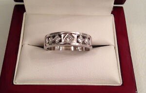 Save $1300 14K Diamond Band 0.40TCW,VS,G-H-I Brand New Condition