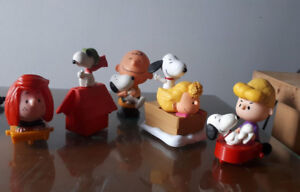 PEANUTS McDonald's HAPPY MEAL KIDS TOYS
