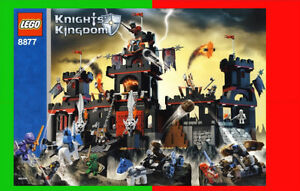 Set Lego 8877 Vladek's Dark Fortress BRIQUES TOYS JOUETS v/VIDEO