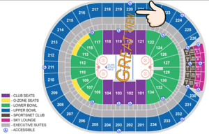 S-PPU Oilers vs. Predators Dec 14. $170 for a pair of tickets