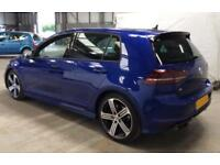2016 BLUE VW GOLF R 2.0 TSI 300 DSG 4X4 PETROL 5DR HATCH CAR FINANCE FR £79 PW