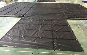 New 2 PC SET  - Lumber Tarp 27x24 +8x8