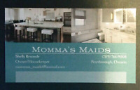 Momma's Maids Has Openings!