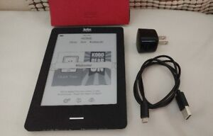 EREADER KOBO EBOOK 6 INCH TOUCH-SCREEN E-INK DISPLAY WIFI