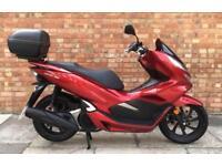 Honda PCX 125cc (18 REG), New Shape, Immaculate condition, 647 miles!