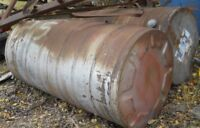 steel fuel tanks  apx 300 gallons no holes .