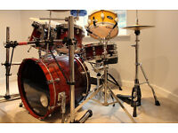 TAMA STARCLASSIC inc hardware, pedals and cases many extras, like PREMIER DW MAPEX PEARL GRETCH