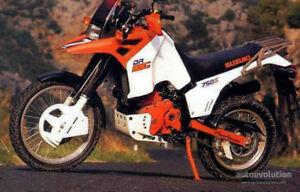 1988 DR750 DR. BIG Project bike