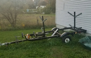 For sale kayak trailer holds up to 4