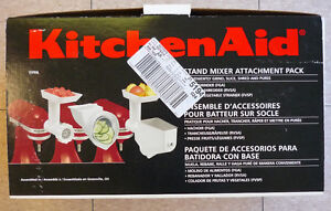 kitchenaid stand mixer attatchement pack