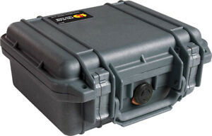water tight Pelican 1200 Case With Foam (Black)