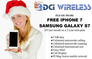 FREE iPHONE 7 or SAMSUNG GALAXY S7