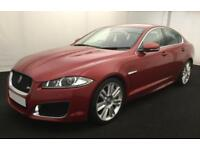 2012 RED JAGUAR XFR 5.0 V8 SUPERCHARGED PETROL 4DR SALOON CAR FINANCE FR £96 PW