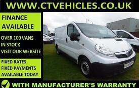 2013 63 Vauxhall Vivaro Van 2.0CDTi 115ps 2900 SWB, 1 Owner