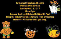 Ghouls and Goblins Craft and vendor show