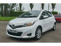 2013 Toyota Yaris 1.3 VVT-I TR 5d 98 BHP Hatchback Petrol Manual