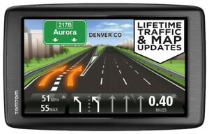 "TomTom VIA 1505TM 5"" GPS Navigator with Lifetime Traffic & Maps."