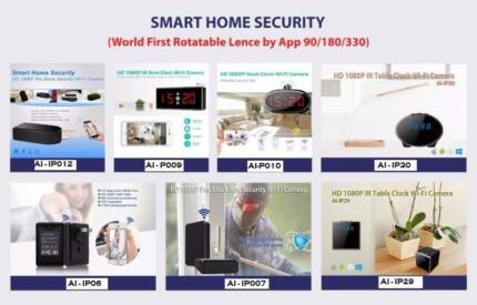 Wifi Wireless IP Home Security spy Camera live streaming by app