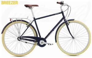 2017 Breezer Downtown 3 Vintage Bicycle Concord West Canada Bay Area Preview