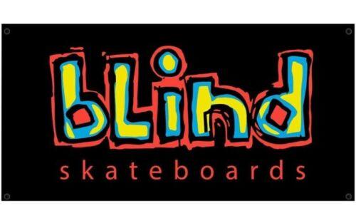 """New! ~ Blind Skateboards / OG Logo / 30"""" X 60"""" / Wall Banner!"""